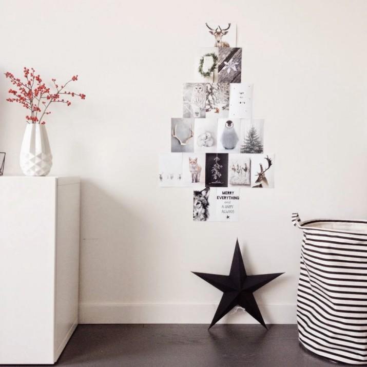 Kerst variatietip: maak een fotokerstboom