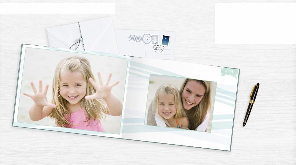 Papiersoorten: fotopapier met platte binding