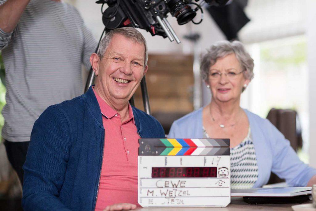 Behind the scenes: tv-commercial opnames bij de familie Meijnen
