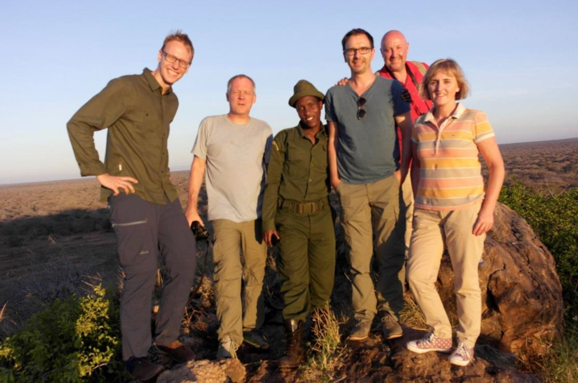CEWE team bezoekt Kasigau Corridor REDD+-project in Kenia
